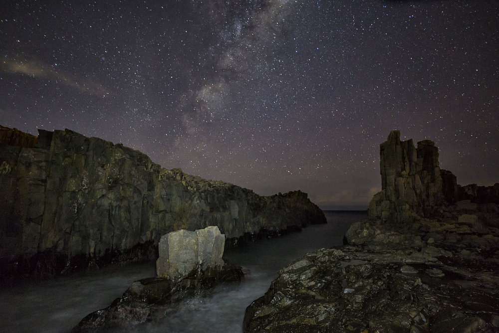 Bombo Quarry & Cathedral Rock - Astrophotography and rustic seascapes will be our focus from Friday night to Sunday morning.Price: $899Approx. 3 Days (Mon-Wed)Inclusions: Accomodation, 2 nights astro, 2 sunsets/dusk, 2 dawn/sunrise & 2 Editing Sessions.Total 15 hours LearningExclusions: Transport and MealsDates: June 3 - 5Participants: 3 - 6Fitness Level: Moderate