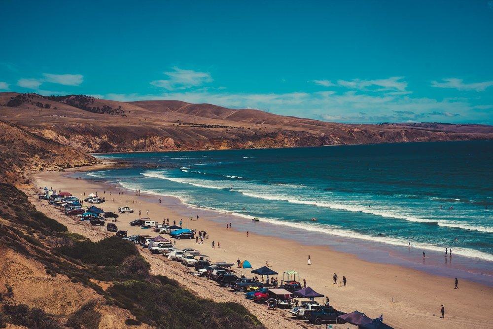 Sellicks Beach On Australia Day