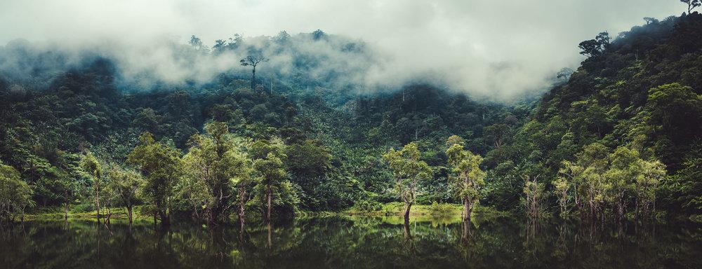 Balinsasayao Pond before Twin Lakes .
