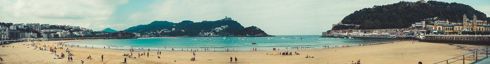 La Concha Beach, San Sebastian