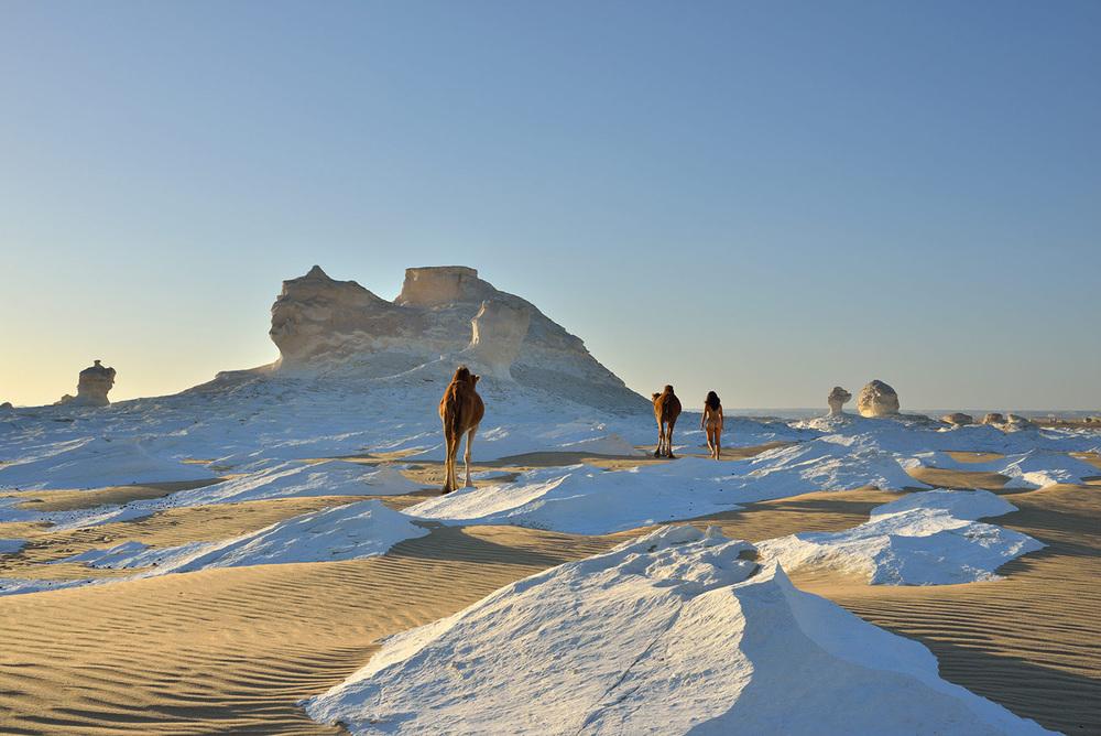 White Desert, <br>Egypt, Sahara 3