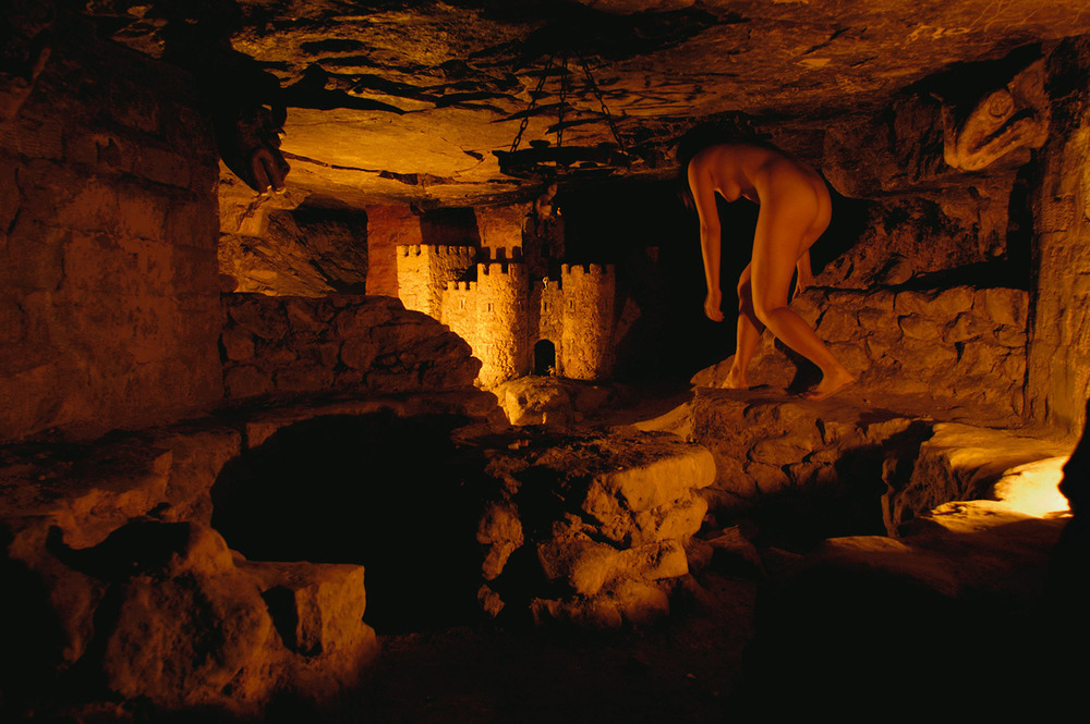 Castle, Catacombes de Paris, Paris, France