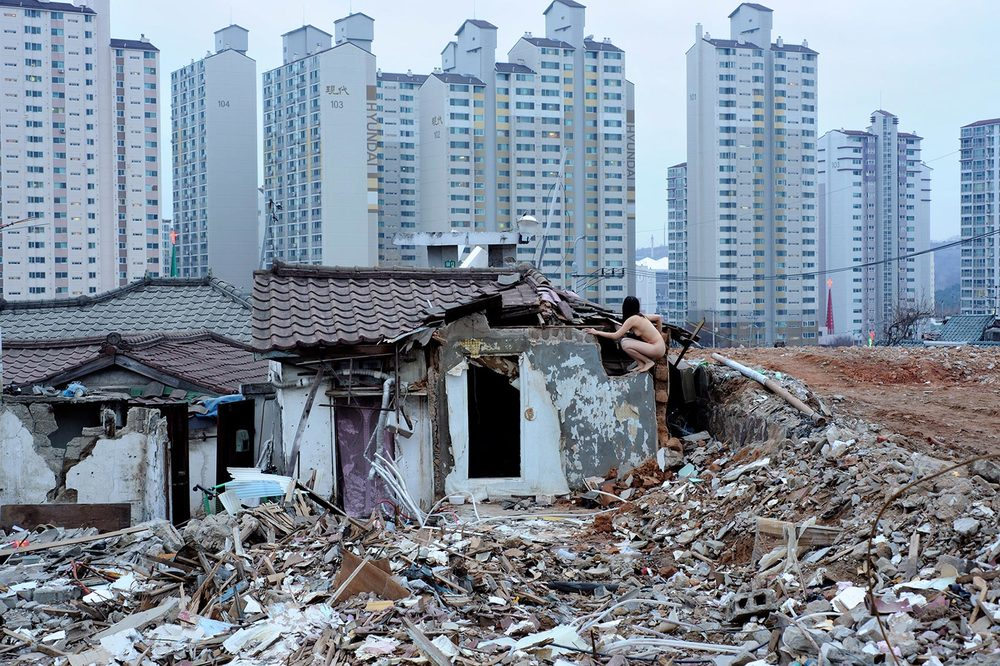 Demolition Zone, Moraenae, Seoul, Korea