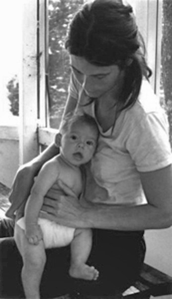 Hana Leigh and mama Clee