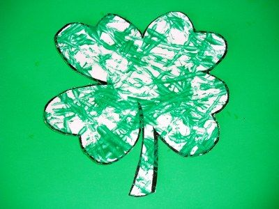 Picture of shamrock golf ball painting.jpg