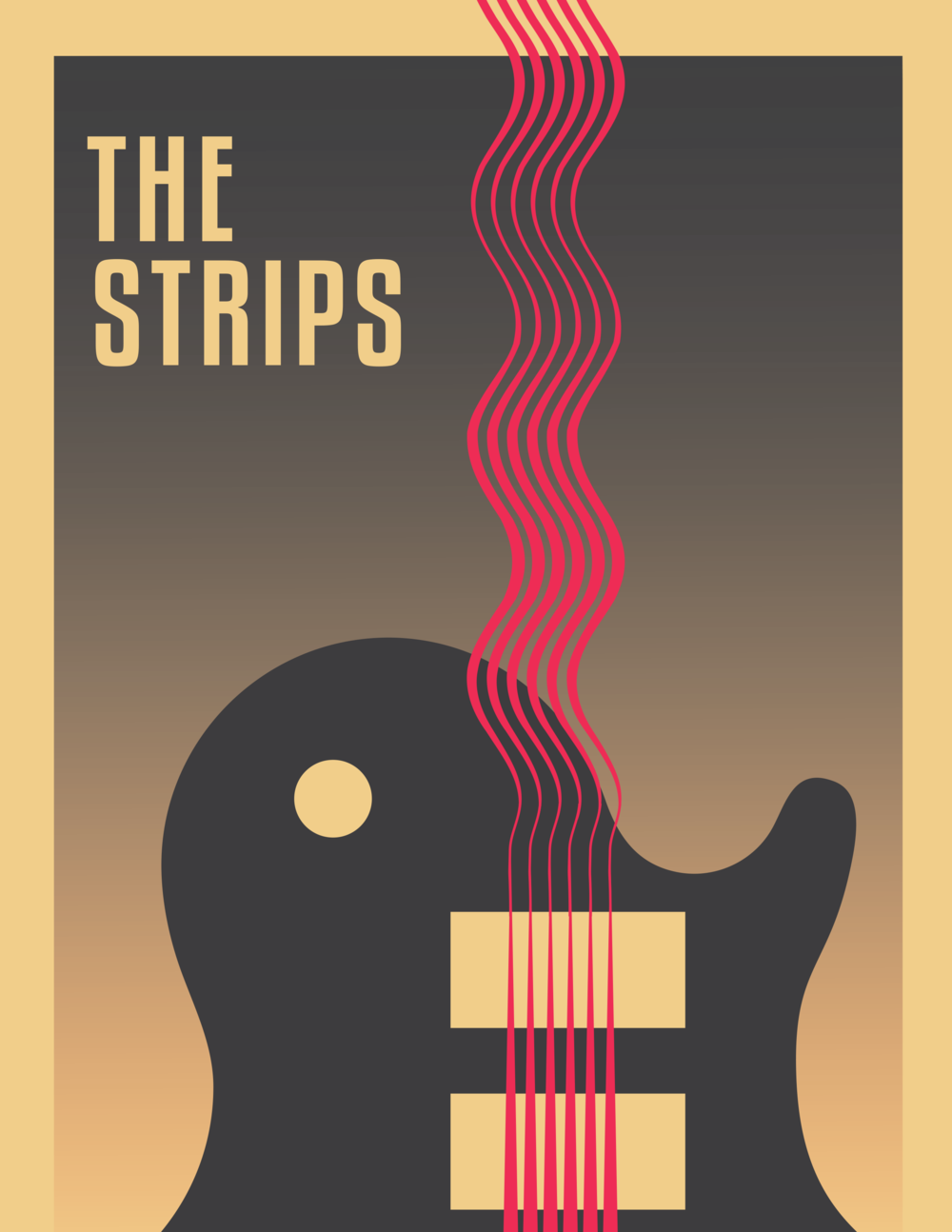 The Strips Guitar