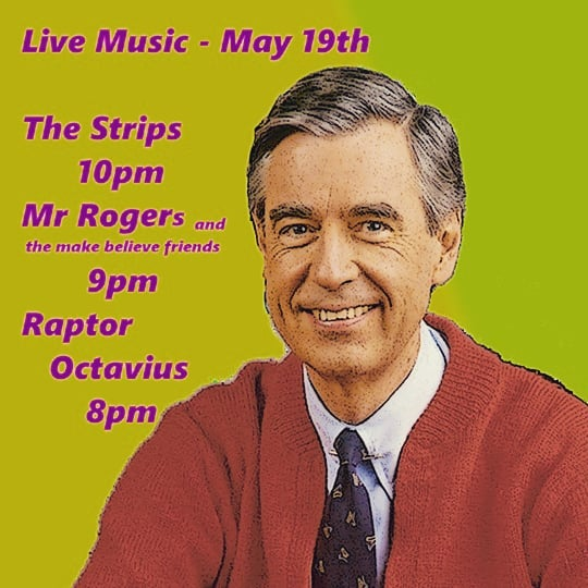 The Strips are having an awesome show at the new The Pourhouse Uptown location! (http://ow.ly/SgiZ30jTvrU) Come on out on May 19th and join us and our friends for a night of rock and roll. #MrRogers #RockandRoll #Livemusic #Minneapolis #Uptown