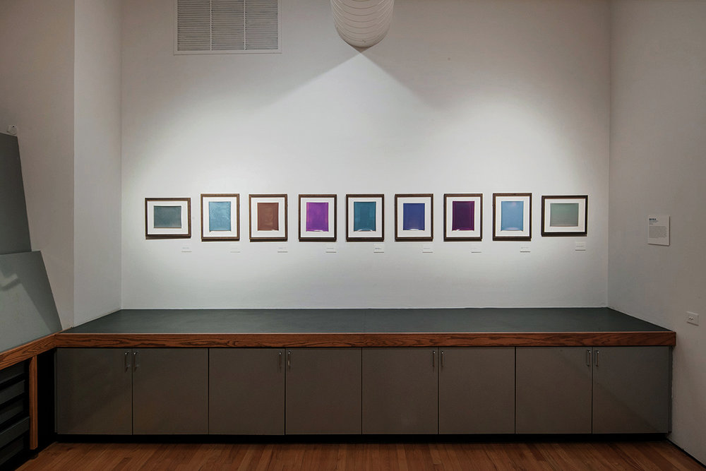 Installation View of Lament