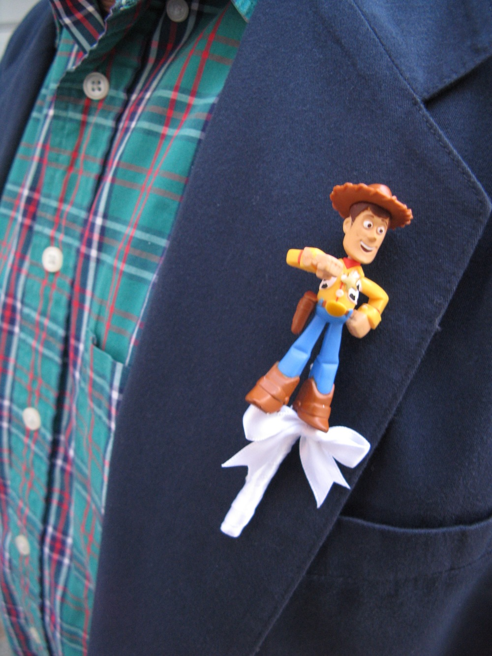 woody boutonniere