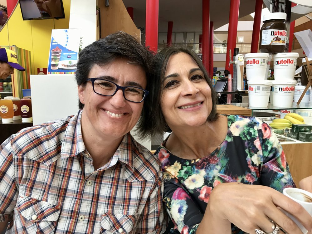 Paula and Fátima