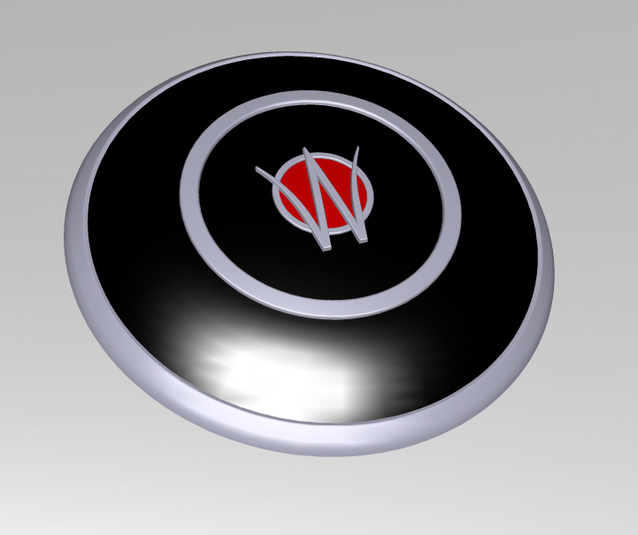 Horn Button Decoration