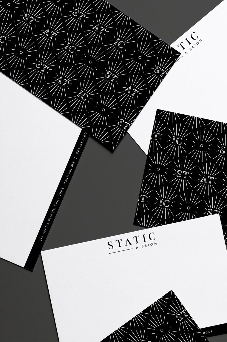 thank you cards stationery brand identity
