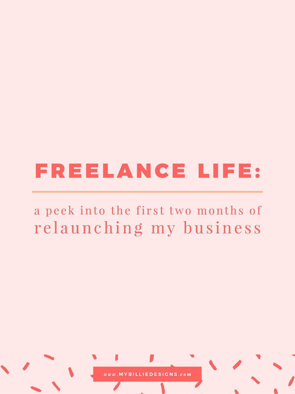 Freelance life: Relaunching My Creative Business. Click through to read →