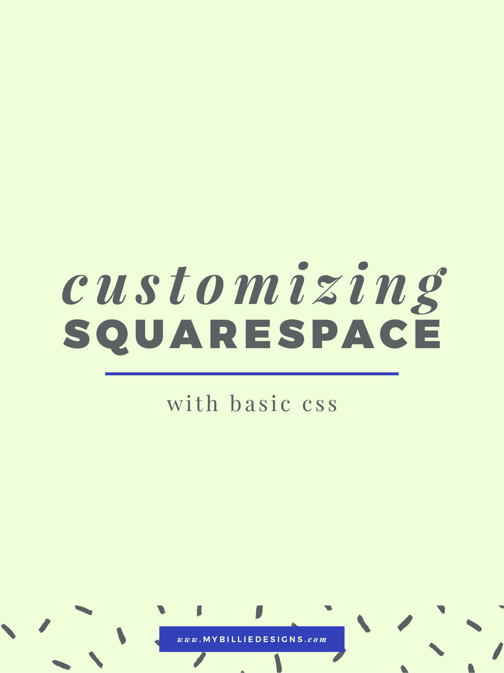 tips and tricks squarespace css