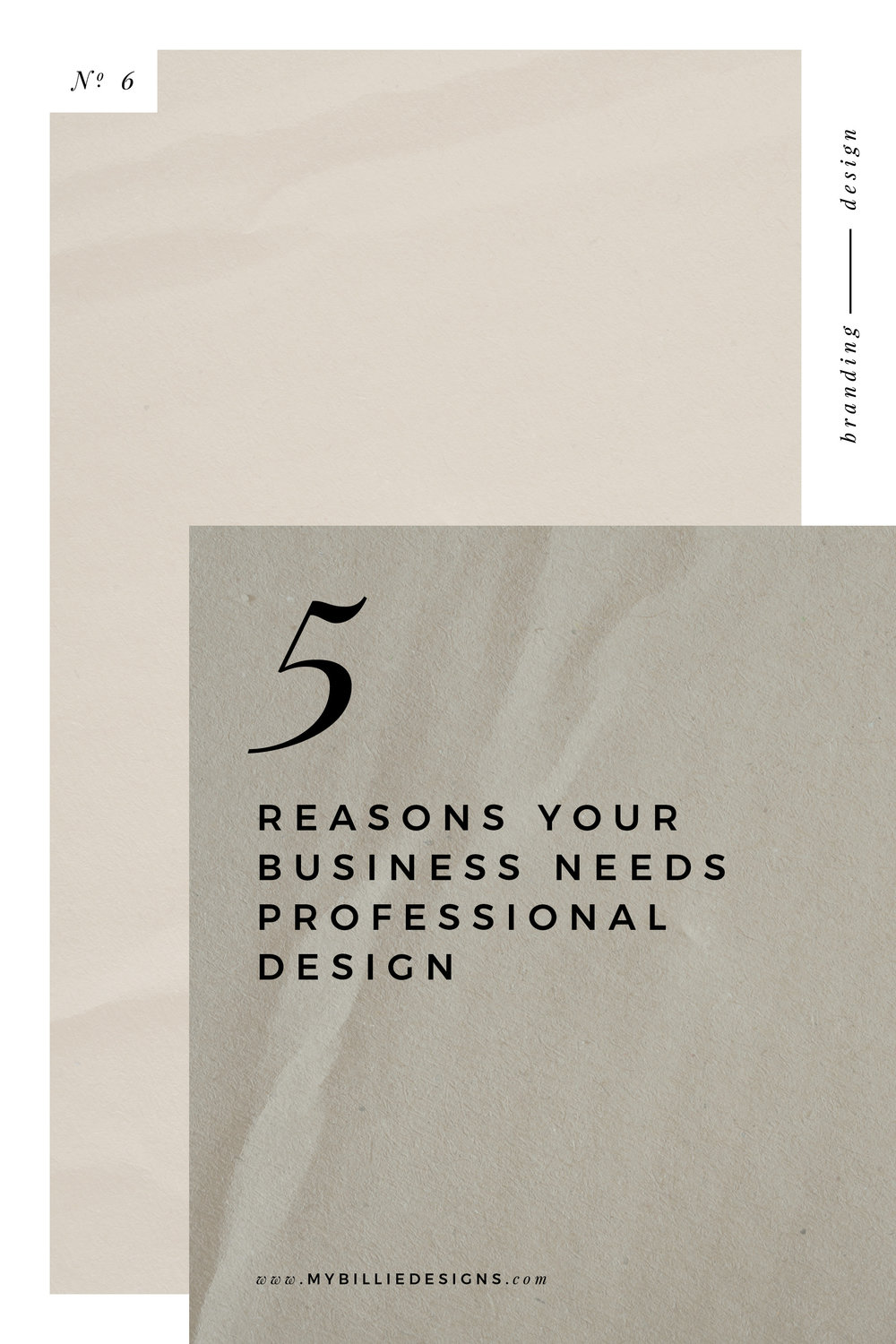 why my business needs professional design