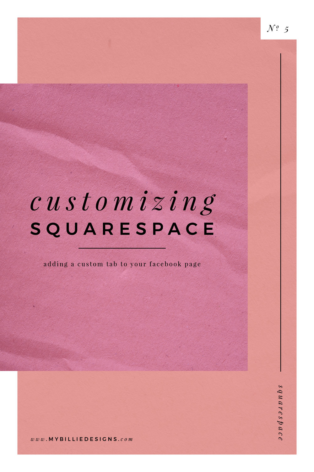 customize squarespace facebook tab branding