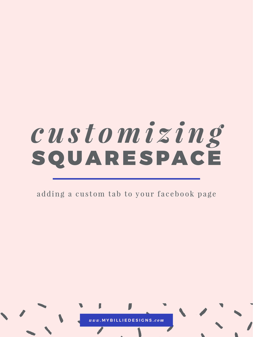 How to add a custom tab to your business's Facebook page from any page on your Squarespace website. Click through to read →
