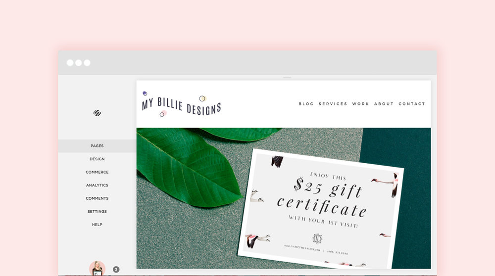 Adding pages to my Squarespace website