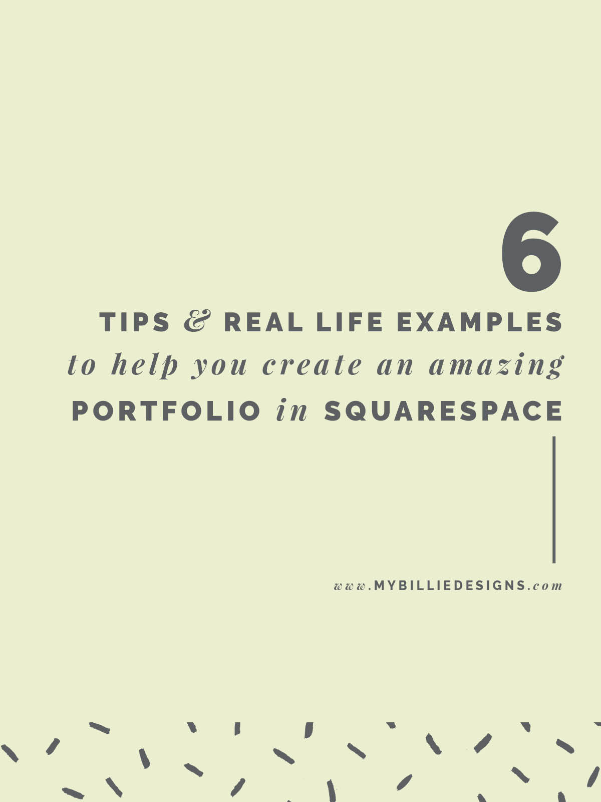 6 tips + real life examples to help you create an amazing portfolio