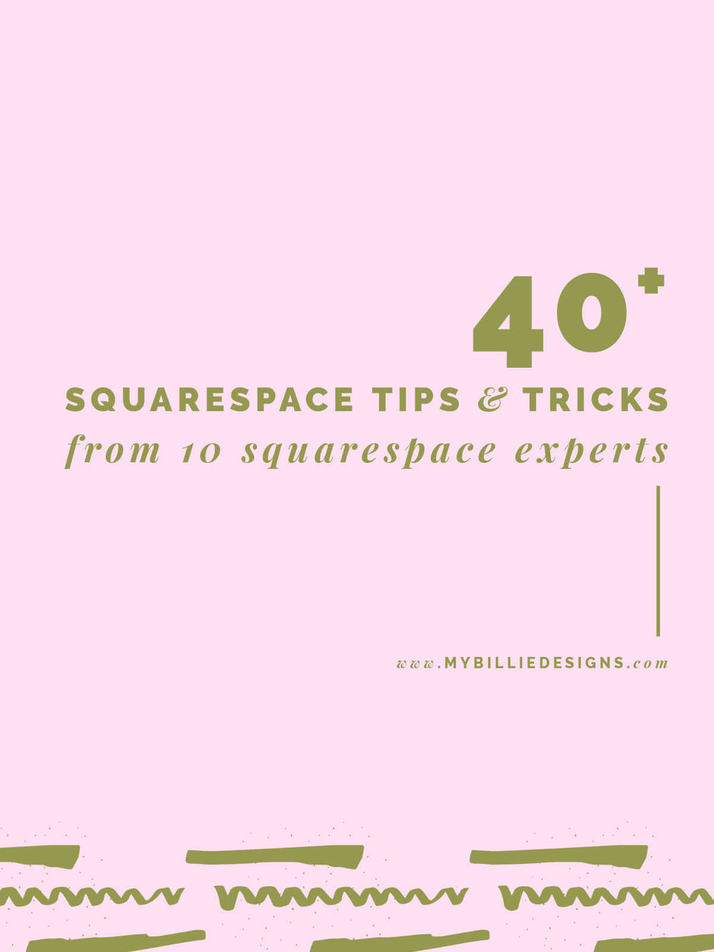 40+ Squarespace Tips & Tricks From 10 Squarespace Experts --> Click through for full post!