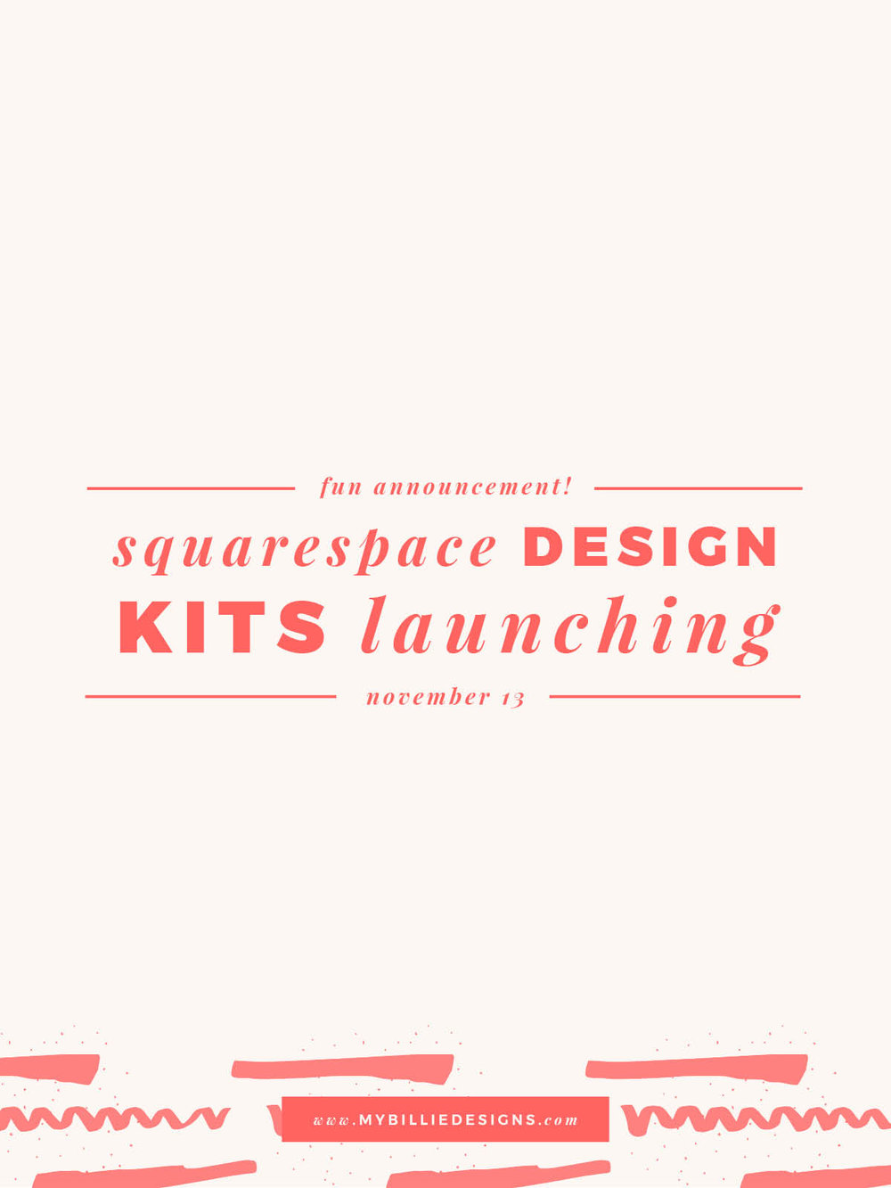 Squarespace Design Kits!