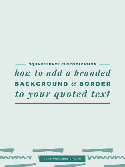 Squarespace Customization: Use HTML To Change An Image When