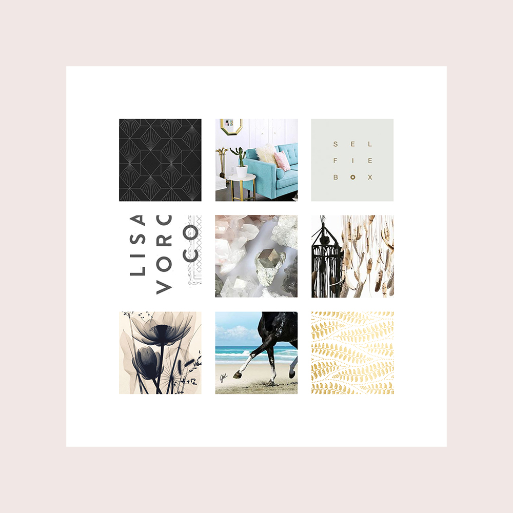 How to create a moodboard template