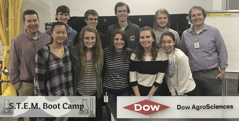 2017 STEM Scholar Group visits DOW AgroSciences as a part of Indiana Wesleyan University's 2nd STEM Boot Camp funded by an award from the National Science Foundation.