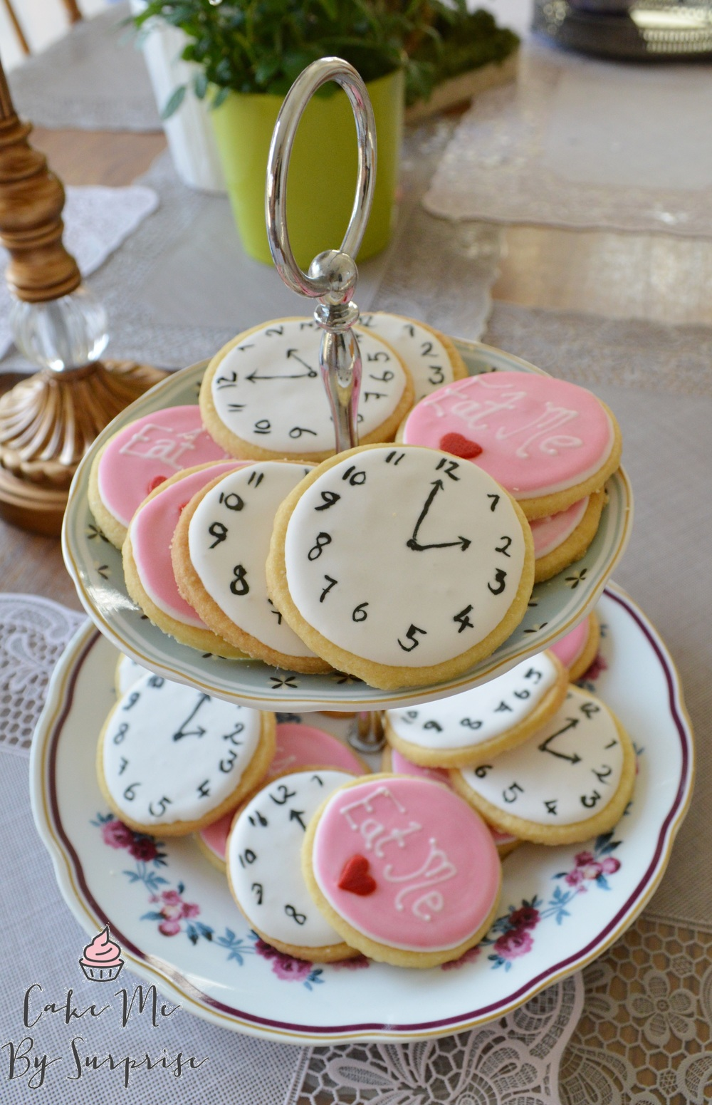 Pocket Watch and Eat Me Cookies