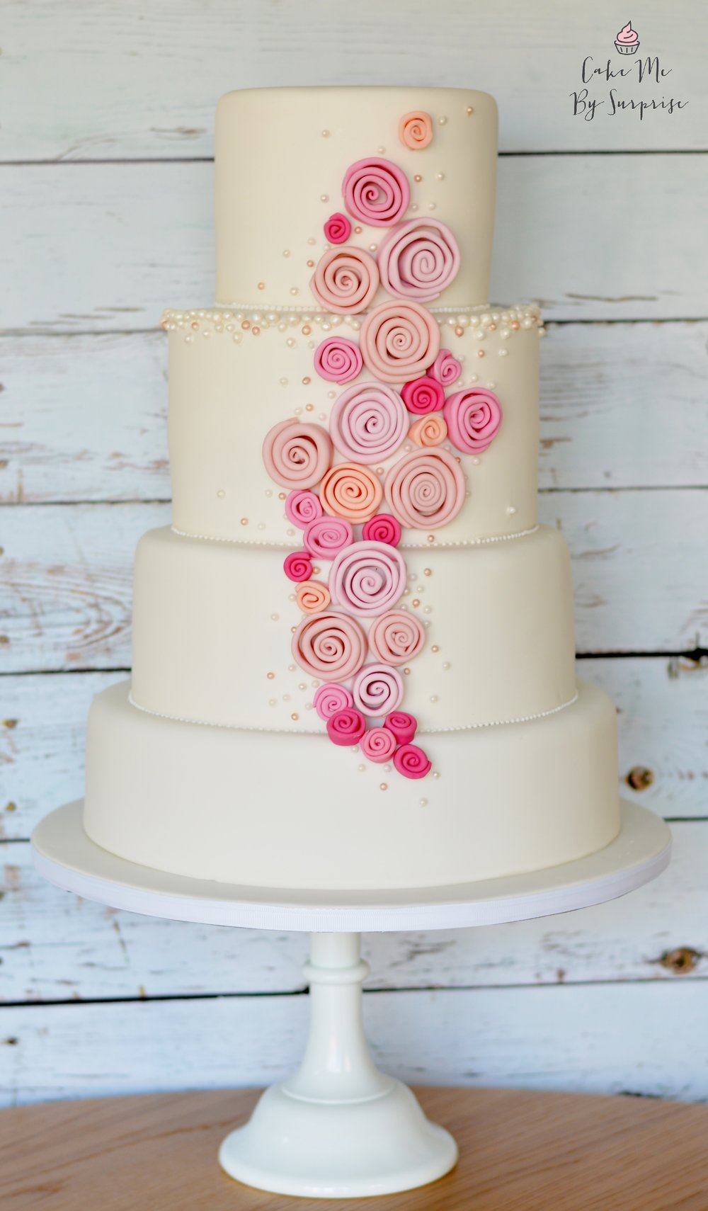 how to make a 4 tier sponge wedding cake home cake me by cake me by 15787