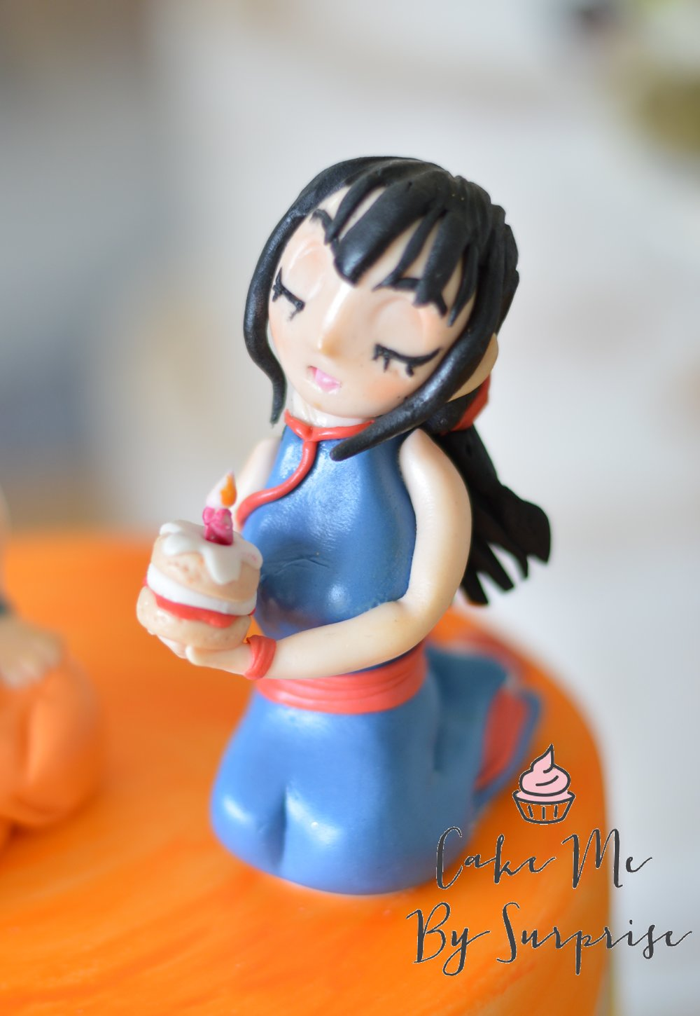 Chi chi dragon ball cake
