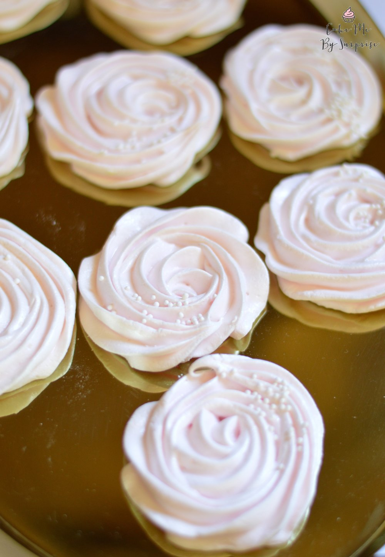 meringue rosettes
