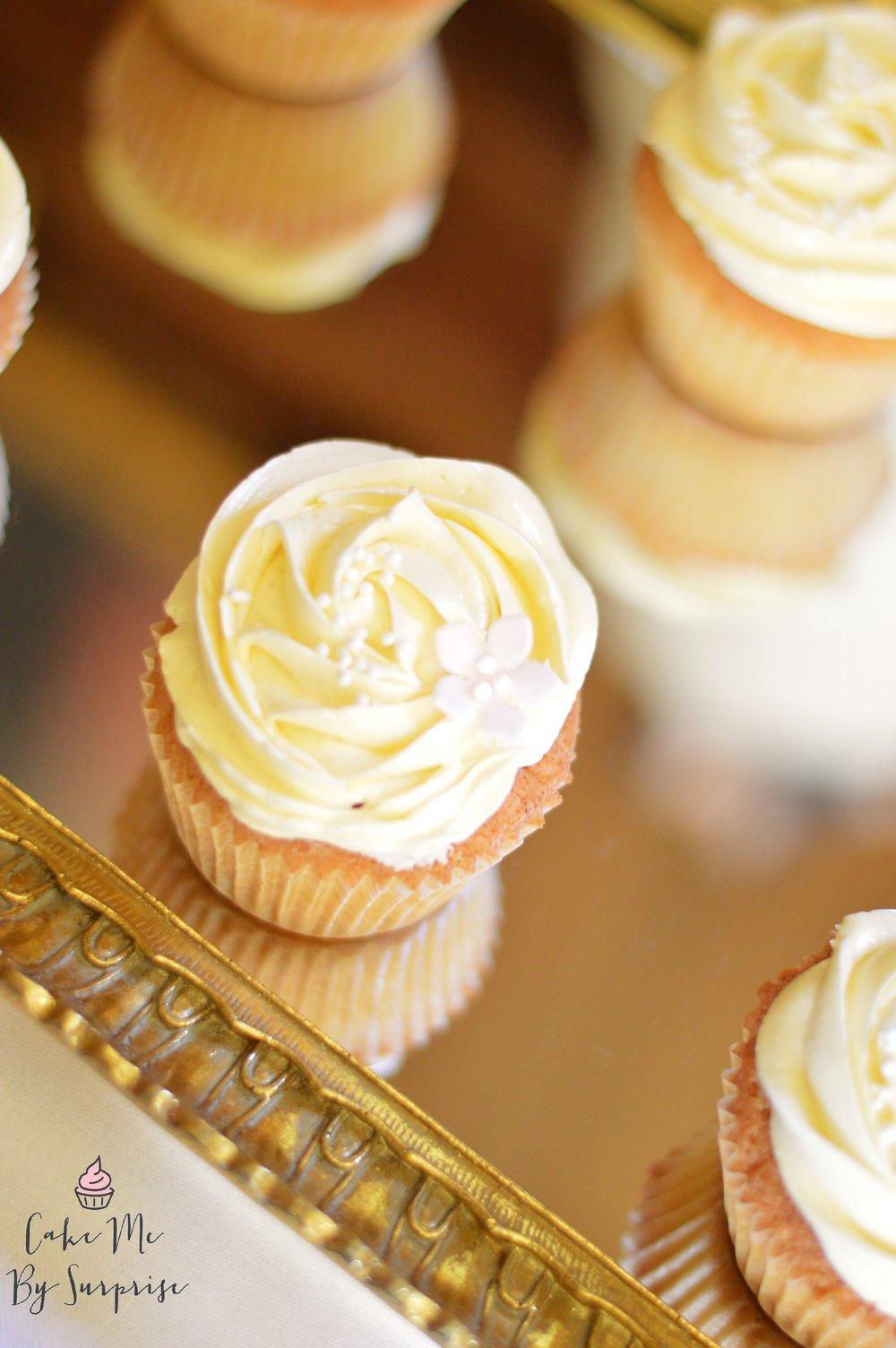 wedding cupcakes rosette