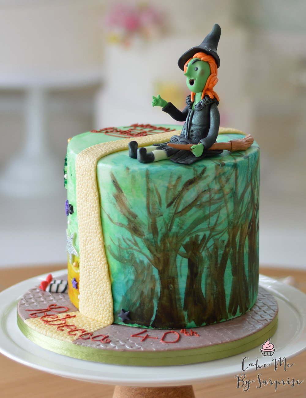 wicked witch birthday cake.JPG