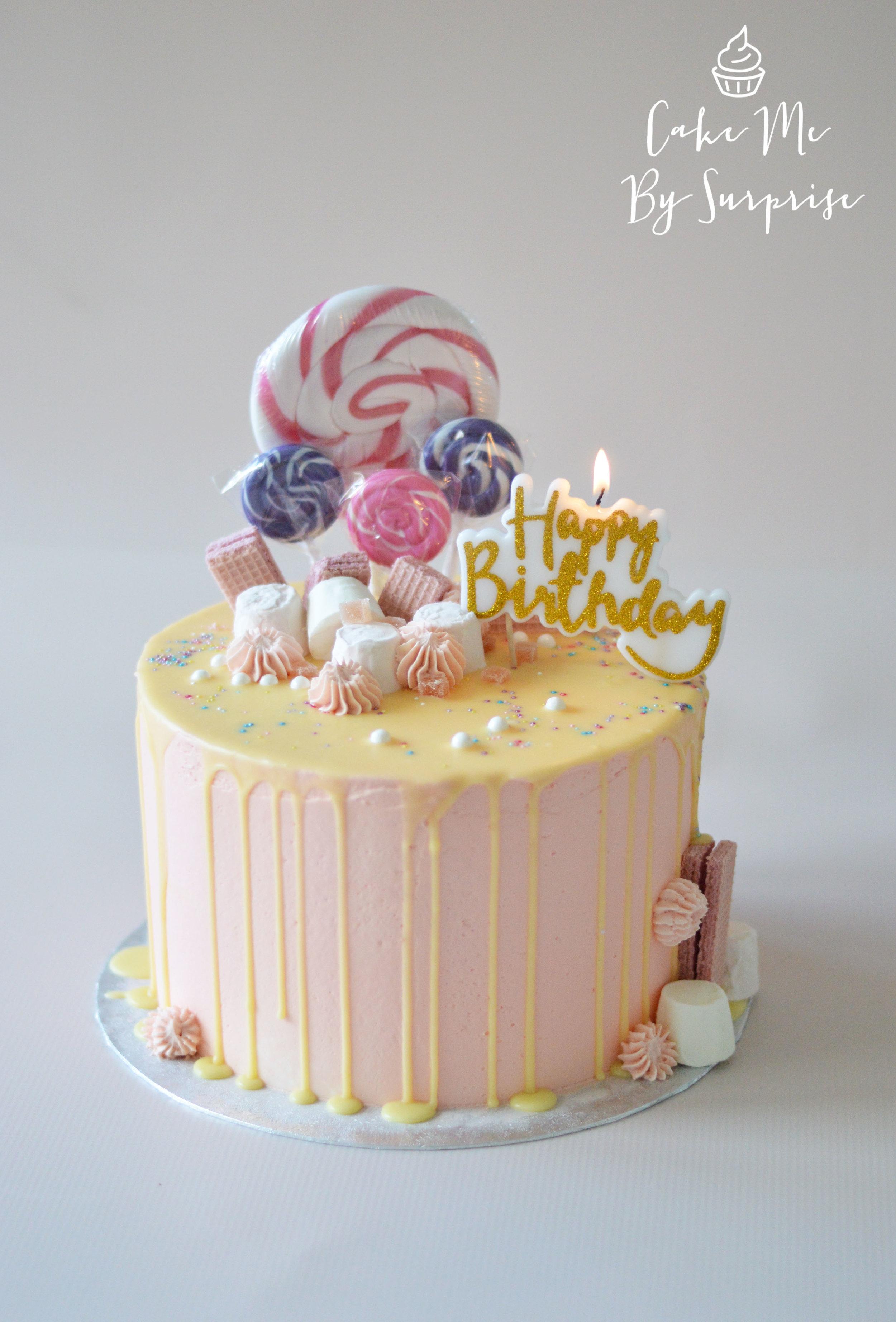 Terrific Sweet Shop Birthday Cake Cake Me By Surprise Birthday Cards Printable Trancafe Filternl