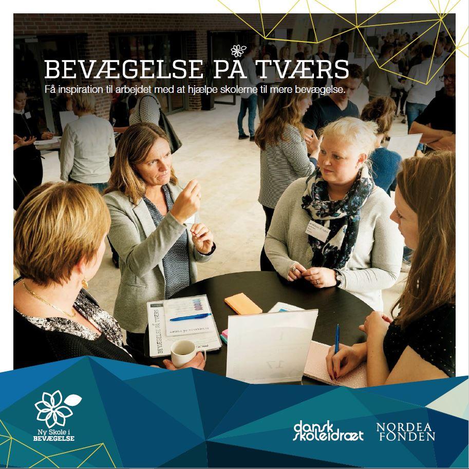 En del af kommunernes mange gode initiativer for at hjælpe skolernes til mere bevægelse blev i slutningen af 2015 samlet i en folder fra Bevægelse på Tværs - klik for at læse denne.