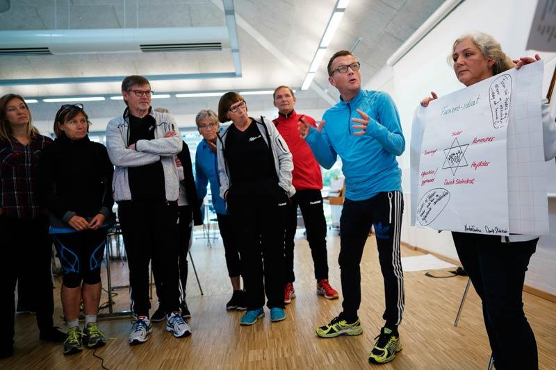 Dansk Skoleidræts 15 kredsforeninger spiller en vigtig rolle i organisationens arbejde med få mere bevægelse ind i skolen. På weekendkurset i september 2015 mødtes en lang række repræsentanter fra kredsene til fælles inspirations- og udviklingsdage.