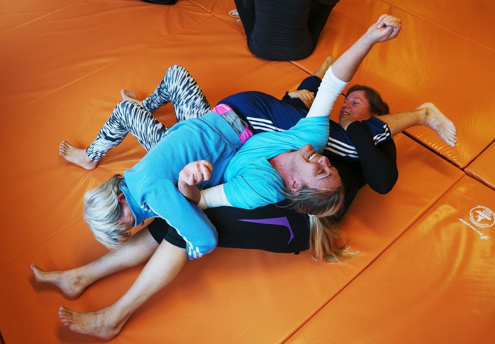 Judo var en af de spændende muligheder for at prøve en ny aktivitet, da 250 idrætsundervisere var samlet til Idrætslærernes Forum.