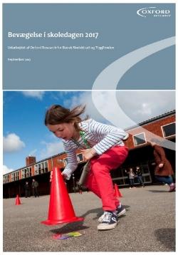 Bevægelse i Skoledagen 2017 - klik på billedet for at læse undersøgelsen.