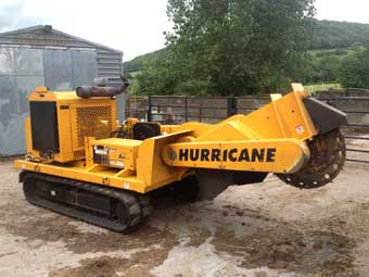 Hurricane stump grinder