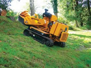 Carlton 7015 stump grinder