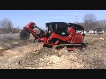 Fecon stump grinder