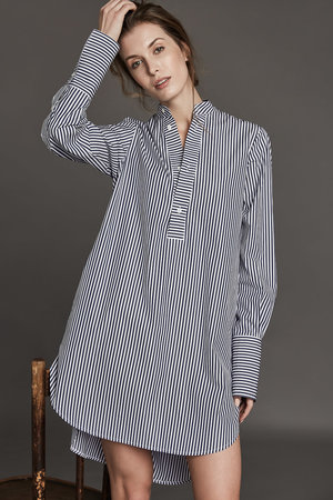 4a2c752b4f7a Venezia - navy wide stripes.JPG. Venezia Shirt Dress