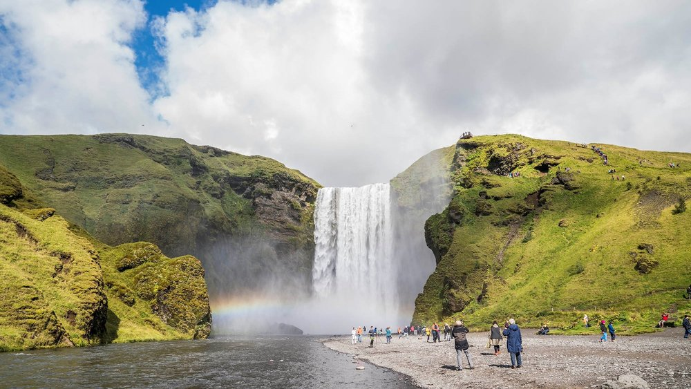 The South Coast - in Small Group, price 13.900,- ISKRugged landscapes, glaciers and coastal cliffs. Visit picturesque waterfalls and black sand beaches.BOOK NOW