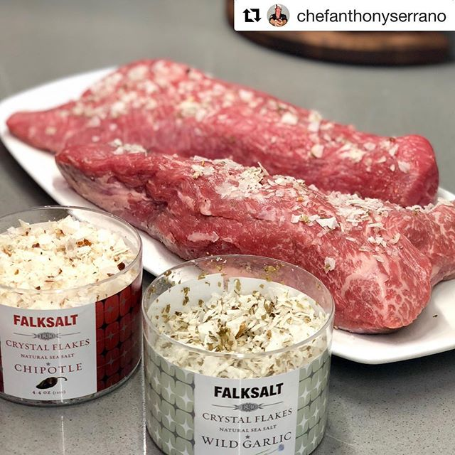 "Happy Friday! Check our Anthony's creation using Falksalt flakes! @chefanthonyserrano • ""I'll admit it, I'm a carnivore & once I saw this beautifully marbled tri-tip I could not resist the urge to season, smoke, and enjoy! I started by liberally seasoning with @falksaltusa and then I smoked it my @traegergrills at 250° until it reached an internal temperature of 135°! It came out extremely juicy & flavorful!"" #beef #tritip #tritipsteak #primebeef #angus #angusbeef #traegernation #traeger #falksalt #instafood #instagood #cooking #dinner #eattheworld #foodcoma #foodporn #delish #eat #seasonyourfood #food #hungry #cookinggram"