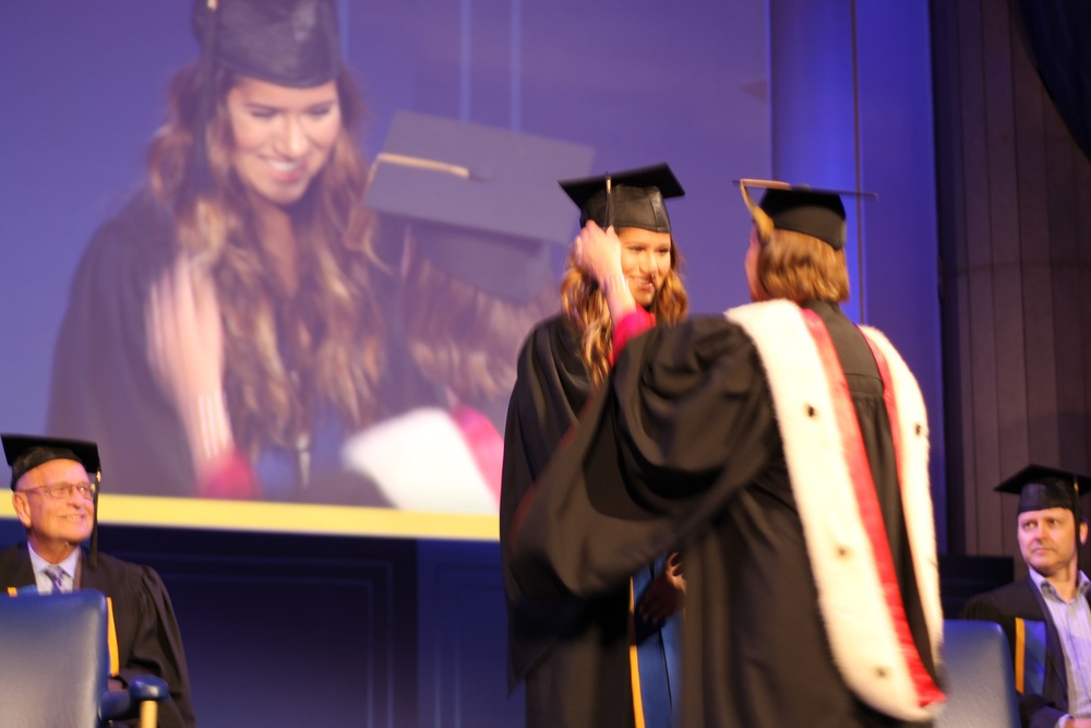 This is the moment I actually got my degree! Is it the most flattering picture? No lol. However, it is a moment that I will truly cherish forever.