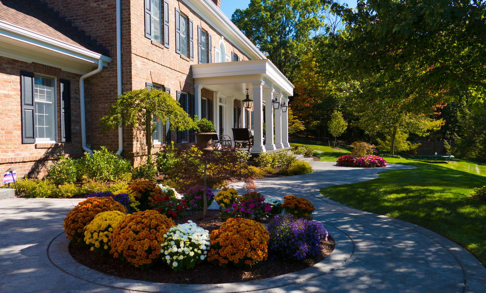 driveway and curb appeal improvement in sewickley, pa