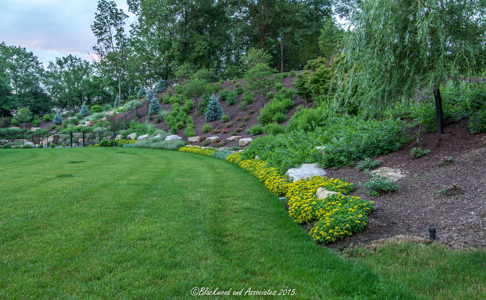 hillside landscaping in sewickley, pa