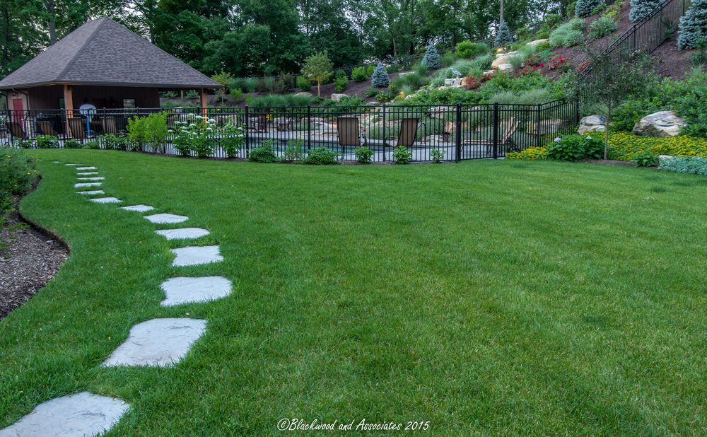 beautiful landscaping in sewickley, pa