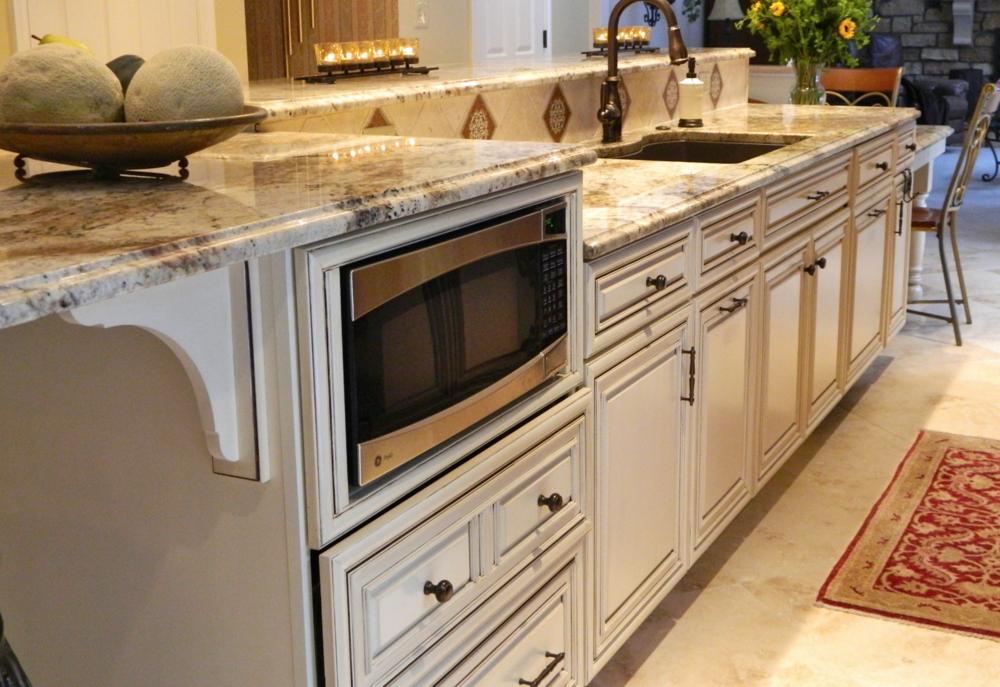 kitchen desk remodel in canonsburg, pa
